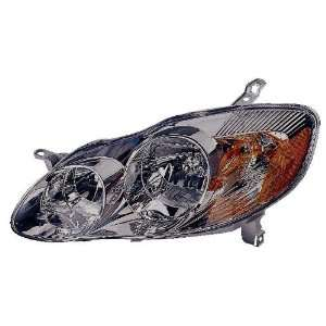 Toyota Corolla Driver Side Replacement Headlight Assembly Automotive