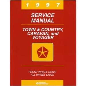 1997 CHRYSLER TOWN & COUNTRY Shop Service Manual Book Automotive