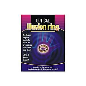 Optical Illusion Ring   Close Up / Street / Magic Toys & Games