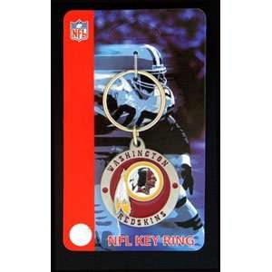 Washington Redskins Key Ring   NFL Football Fan Shop