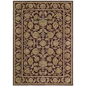 Tommy Bahama Rugs Home Nylon Tropical Isle Cranberry Oriental Rug