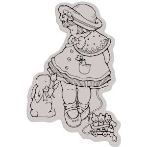 Cling Rubber Stamp 4X5 For Goodness Sake