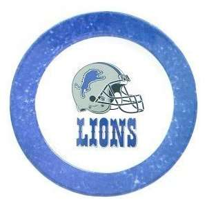 Detroit Lions NFL Dinner Plates (4 Pack) by Duck House