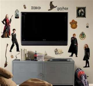 New HARRY POTTER WALL DECALS Removable Stickers Decor 034878271729