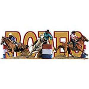 RODEO WORD HORSE BARREL RACING T SHIRT RODEO TEE S 3X