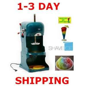 Commercial Grade Electric Hawaiian Ice Shaver Machine