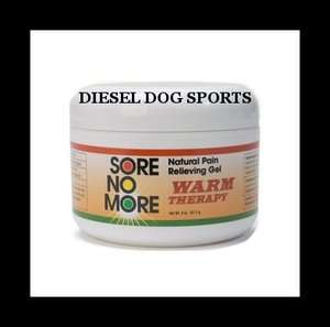 SORE NO MORE WARM THERAPY NATURAL PAIN RELIEF GEL 8oz